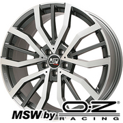 MSW 49(グロスガンメタルポリッシュ) MSW by OZ Racing MSW