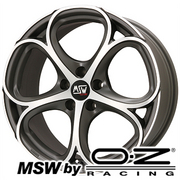 MSW 82(マットガンメタルフルポリッシュ) MSW by OZ Racing MSW